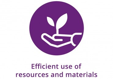 4.1 - Efficient use of resources and materials